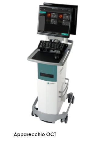 Apparecchio OCT - tomografia a coerenza ottica