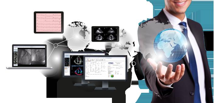 Sistema refertativo digitale cardiologico