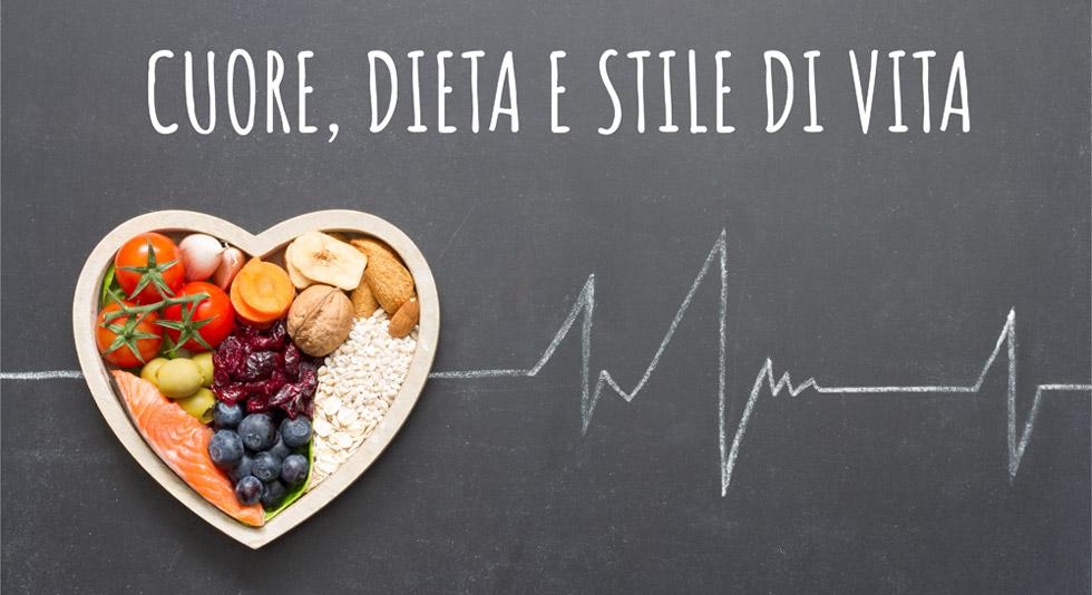 Cuore dieta e salute